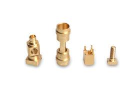 precision machining Parts cnc milling cutting Part Copper pieces